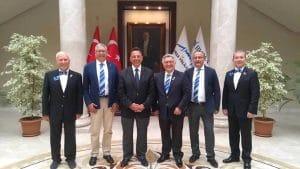 DG Alaeddin Demircioğlu Bursa Vali Yardımcısı Ergun Güngör'ü Makamında Ziyaret Etti