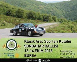 Osmangazi RK Klasik Otomobil Turu Duyurusu