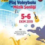 Buca Rotary Kulübü 7. Liselerarası Plaj Voleybolu Turnuvası ve Müzik Şenliği