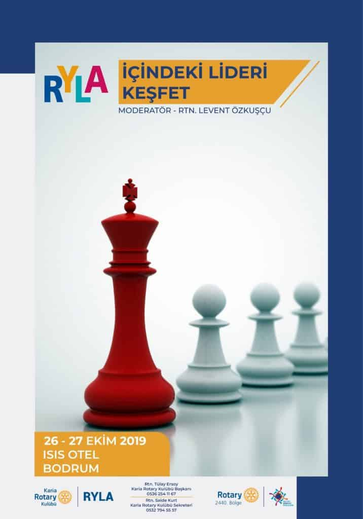 """Karia RK / RYLA """"İçindeki Lideri Keşfet"""" 26-17 Ekim 2019 BODRUM"""