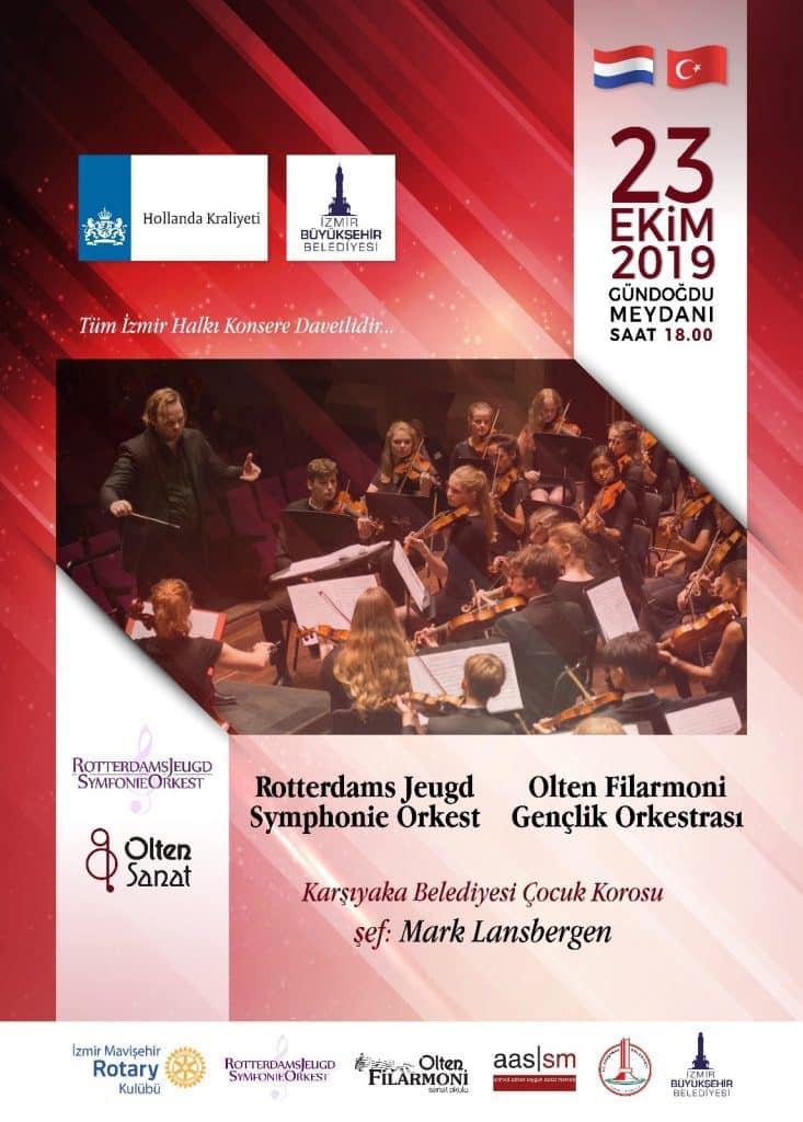 Mavişehir RK & Olten Filarmoni Gençlik Orkestrası & Karşıyaka Belediyesi Çocuk Korosu Konser