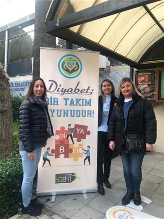 100. Yıl Güzelbahçe RK & Ege Diyabetliler Derneği İşbirliği ile proje
