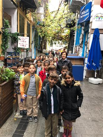 "100. Yıl Güzelbahçe RK ""Rotary Okulda Kültür Sanat Gezisi"""