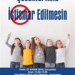 """Gaziemir RK Toplum Birliği'nde """"Çocuklarımız İstismar Edilmesin"""" Semineri"""