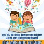 Gaziemir RK Kitap Bağışı Kampanyasına Rotaractörler Destek Verdi