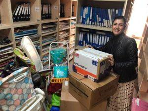 Karşıyaka RK Çocuk Onkoloji Servisi'nde Çocukların İhtiyaçlarını Karşıladı