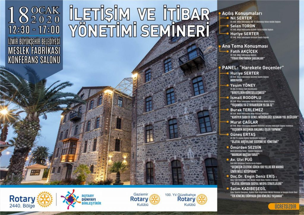 Kurumsal İletişim ve İtibar Semineri – İzmir