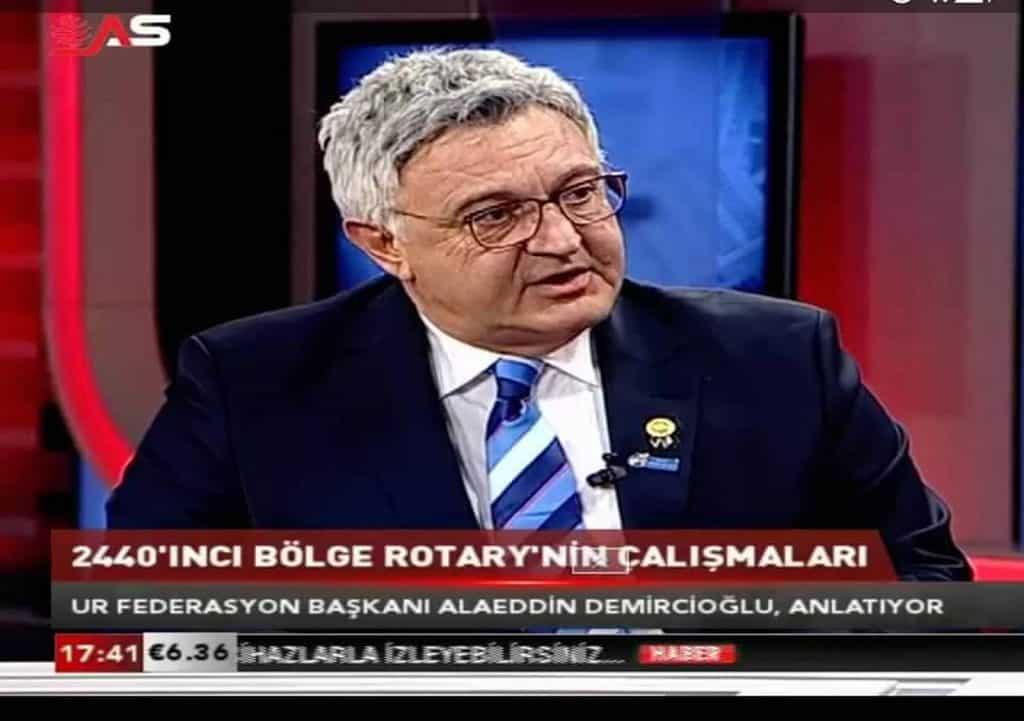 DG Alaeddin Demircioğlu Bursa AS TV Canlı Yayınına Katıldı