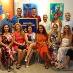 Gündoğdu Rotary Kulübü Projeleri Yararına Resim Sergisi Düzenledi