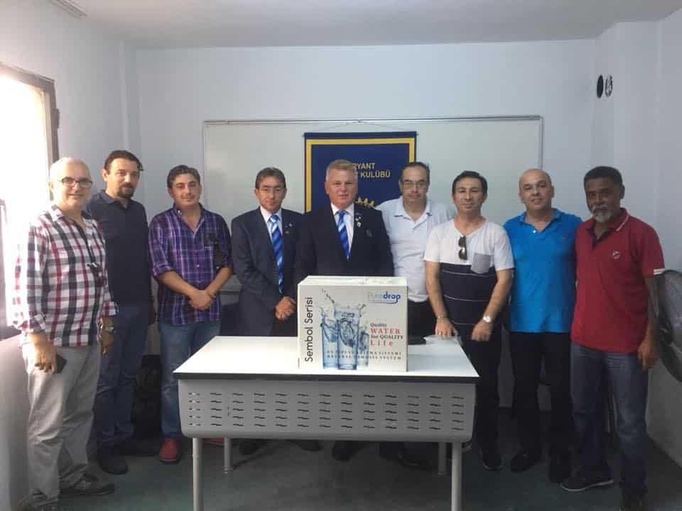Varyant Rotary Kulübü Su Arıtma Cihazı Bağışı…
