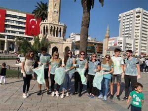 Ege RK 15 Eylül Dünya Çöp Toplama Günü Etkinliği