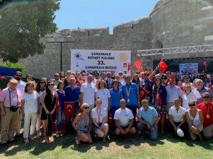 33. Uluslararası Çanakkale Rotary Kulübü Yüzme Yarışması Tamamlandı