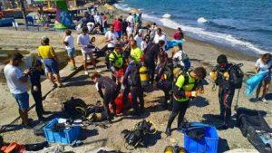 100. Yıl Güzelbahçe RK Deniz Dip Temizliği