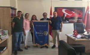 Bursa Rotary Kulübü Okul Çantası Bağışı