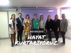 Bostanlı RK Ege Üniversitesi Neanatoloji Bölümü İhtiyaçları Giderildi