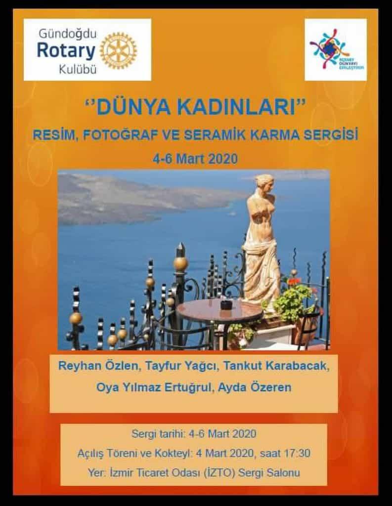 """Gündoğdu RK """"Dünya Kadınları"""" Temalı Resim, Seramik ve Fotoğraf Sergisi"""