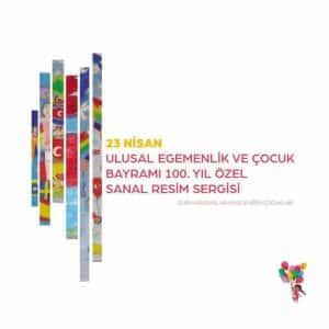 Efes Rotary Kulübü 23 Nisan'ın 100. Yılı için için Sanal Resim Sergisi Düzenledi