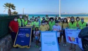 Efes Rotary Kulübü Kıyı Temizliği Düzenledi
