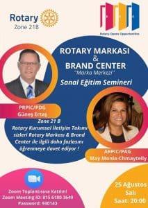 Zon 21B 25 Ağustos'ta Rotary Markası ve Marka Merkezi Eğitimi Düzenledi