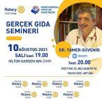 """Gerçek Gıda Semineri """"Dr. Tamer Güvenir"""""""