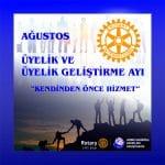 Ağustos – Rotary Üyelik ve Üyelik Geliştirme Ayı